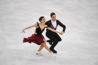 OLYMPIC GAMES: PYEONGCHANG: 20-02-2018, Gangneung Ice Arena, Figure Skating, Ice Dance Free Dance, Sara Hurtado and Krill Khaliavin (ESP), ©photo Martin de Jong