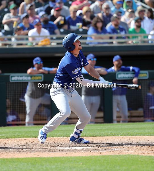 Devin Mann - Los Angeles Dodgers 2020 spring training (Bill Mitchell)