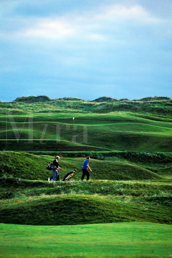 Golf course, Lahinch, County Clare, Ireland