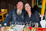 Enjoying the evening in Ristorante Uno on Saturday, l to r: Mike and Sharon Brown (Tralee).