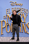 Juan Diaz attends to Mary Poppins Returns film premiere at Kinepolis in Pozuelo de Alarcon, Spain. December 11, 2018. (ALTERPHOTOS/A. Perez Meca)