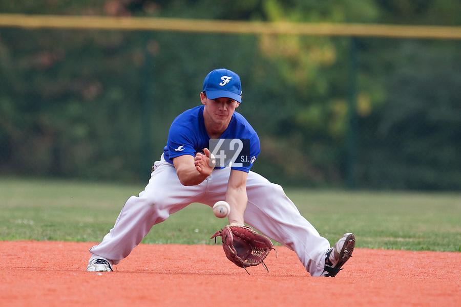 23 September 2009: Pole Baseball Rouen, Yohann Bret