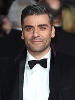 "Oscar Isaac<br /> arriving for the ""Star Wars: The Last Jedi"" film premiere at the Royal Albert Hall, London.<br /> <br /> <br /> ©Ash Knotek  D3363  12/12/2017"