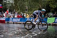 Elite Men Road Race from Leeds to Harrogate (shortened to 262km)<br /> 2019 UCI Road World Championships Yorkshire (GBR)<br /> <br /> ©kramon