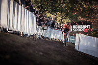 Mathieu Van der Poel (NED) leading the race.<br /> <br /> UEC CYCLO-CROSS EUROPEAN CHAMPIONSHIPS 2018<br /> 's-Hertogenbosch – The Netherlands<br /> Men Elite Race