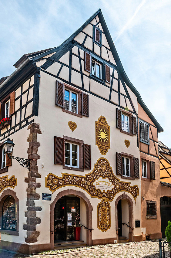 The Fortwenger bakery in Kaysersberg, known especially for its gingerbread