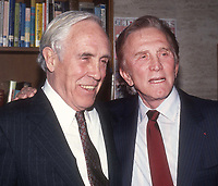Jason Robards Kirk Douglas 1983 Photo By John Barrett/PHOTOlink