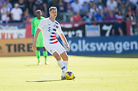 CARSON, CA - FEBRUARY 1: Walker Zimmerman #5 of the United States looking for an open teammate during a game between Costa Rica and USMNT at Dignity Health Sports Park on February 1, 2020 in Carson, California.