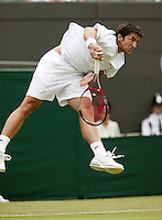 28-6-06,England, London, Wimbledon, first round match, Tipsarevic
