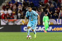 Harrison, NJ - Thursday Sept. 15, 2016: Alexander Larin Hernandez during a CONCACAF Champions League match between the New York Red Bulls and Alianza FC at Red Bull Arena.