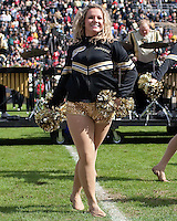 Purdue dance girl. The Purdue Boilermakers defeated the Ohio State Buckeyes 26-18 at Ross-Ade Stadium, West Lafayette, Indiana on October 17, 2009..