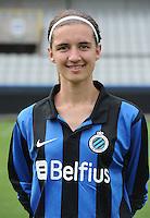 Club Brugge Vrouwen : Barbara Lezy<br /> foto David Catry / nikonpro.be