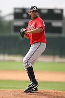 March 23rd 2008:  Raul Gonzalez of the Atlanta Braves minor league system during Spring Training at Disney's Wide World of Sports in Orlando, FL.  Photo by:  Mike Janes/Four Seam Images