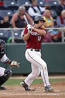 July 7 2009: Ryan Wheeler of the Yakima Bears bats against the Everett AquaSox at Everett Memorial Stadium in Everett,WA.  Photo by Larry Goren/Four Seam Images