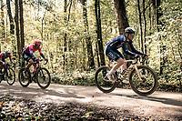 Otto Vergaerde (BEL/Alpecin-Fenix) over the Plugstreets<br /> <br /> 82nd Gent-Wevelgem in Flanders Fields 2020 (1.UWT)<br /> 1 day race from Ieper to Wevelgem (232km)<br /> <br /> ©kramon