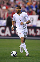 USMNT defender Oguchi Onyewu (5)  The USMNT tied Costa Rica 2-2 on the final game of the 2010  FIFA World Cup Qualifying round at RFK Stadium,Wednesday  October 14 , 2009.