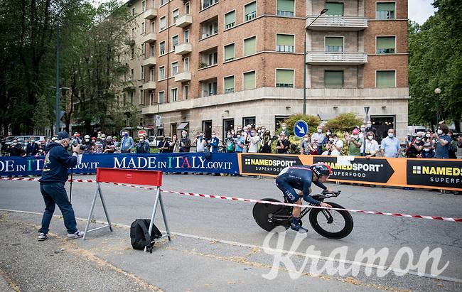 Jonathan Castroviejo (ESP/INEOS Grenadiers) <br /> <br /> 104th Giro d'Italia 2021 (2.UWT)<br /> Stage 1 (ITT) from Turin to Turin (8.6 km)<br /> <br /> ©kramon