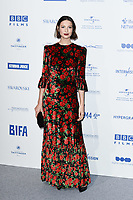 Caitriona Balfe<br /> arriving for the British Independent Film Awards 2019 at Old Billingsgate, London.<br /> <br /> ©Ash Knotek  D3541 01/12/2019