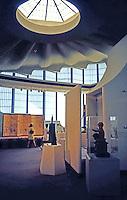 Bruce Goff: Japanese Pavilion--interior. LACMA 1989.
