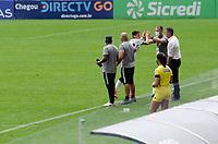 São Paulo (SP), 07/03/2021 - CORINTHIANS-PONTE PRETA - Mateus Vital, do Corinthians comemora o gol. Corinthians e Ponte Preta partida válida pela terceira rodada do Campeonato Paulista 2021, na Neo Química Arena, neste domingo (07).
