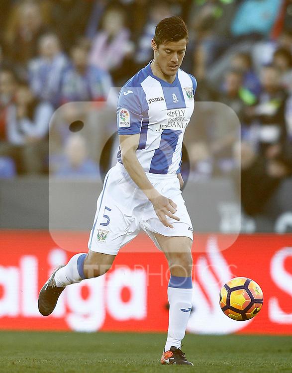 CD Leganes' Martin Mantovani during La Liga match. February 25,2017. (ALTERPHOTOS/Acero)