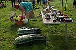 Cudham Kent. Village summer fete Kent. Local woman judging the produce show. Uk 2017