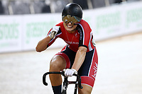 Olivia Podmore finishes first in the Women Elite sprint final during the 2020 Vantage Elite and U19 Track Cycling National Championships at the Avantidrome in Cambridge, New Zealand on Friday, 24 January 2020. ( Mandatory Photo Credit: Dianne Manson )