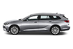 Car Driver side profile view of a 2021 Opel Insignia-Sports-Tourer Ultimate 5 Door Wagon Side View