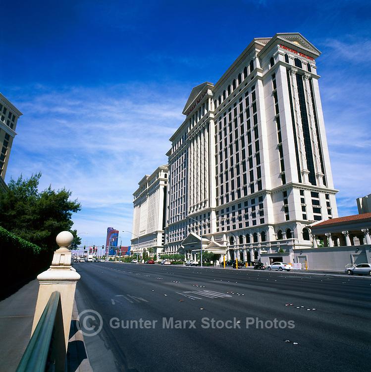 Las Vegas, Nevada, USA - Caesars Palace along The Strip (Las Vegas Boulevard)