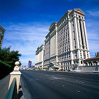 Las Vegas, Nevada, USA - Caesars Palace along The Strip (Las Vegas Boulevard)