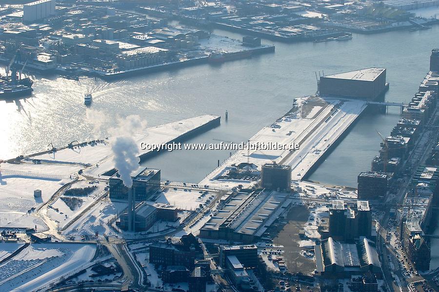 Deutschland, Hamburg, Hafencity, Dallmannkai, Strandkai,Kraftwerk Hafen, SAP