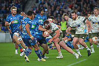 Liam Coltman in action during the Super Rugby Tran-Tasman final between the Blues and Highlanders at Eden Park in Auckland, New Zealand on Saturday, 19 June 2021. Photo: Dave Lintott / lintottphoto.co.nz