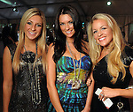 Marija Babic, Kelli Rose and Amberly Allen at the third day of the Fashion Houston 2010 presented by Audi at the Wortham Theater Wednesday Oct. 13, 2010. (Dave Rossman/For the Chronicle)