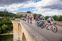 8th July 2021; Nimes, France; ALAPHILIPPE Julian (FRA) of DECEUNINCK - QUICK-STEP during stage 11 of the 108th edition of the 2021 Tour de France cycling race, a stage of 159,4 kms between Saint-Paul-Trois-Chateaux and Nimes.
