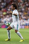 Real Madrid's Marcelo during La Liga match between Real Madrid and Valencia CF at Santiago Bernabeu Stadium in Madrid, Spain August 27, 2017. (ALTERPHOTOS/Borja B.Hojas)