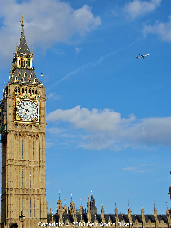 Big Ben and theHouse of Parliament in London, UK