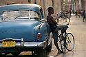 street scene in Havana Cuba