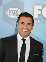 05-16-16 Fox Upfront - Mark Consuelos - Pitch - Emily Deschanel - David Boreanaz - NYC