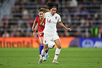 Saint Paul, MN - SEPTEMBER 03: Dolores Silva #14 of the Portugal during their 2019 Victory Tour match versus Portugal at Allianz Field, on September 03, 2019 in Saint Paul, Minnesota.