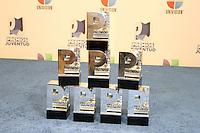 MIAMI, FL- July 19, 2012:  Prince Royce's Awards backstage at the 2012 Premios Juventud at The Bank United Center in Miami, Florida. ©Majo Grossi/MediaPunch Inc. /*NORTEPHOTO.com* **SOLO*VENTA*EN*MEXICO** **CREDITO*OBLIGATORIO** *No*Venta*A*Terceros* *No*Sale*So*third* ***No*Se*Permite*Hacer Archivo***No*Sale*So*third*©Imagenes*