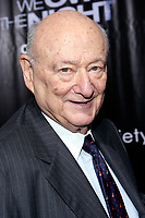 Ed Koch 10/9/07, Photo by Steve Mack/PHOTOlink