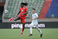 6th June 2021, Stade Josy Barthel, Luxemburg; International football friendly Luxemburg versus Scotland;   Gerson Rodrigues Luxembourg 10 acrobatic control in front of Billy Gilmour Scotland