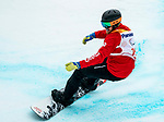 Andrew Genge, PyeongChang 2018 - Para Snowboard // Parasnowboard.<br /> Highlights of Team Canada during Para Snowboard competition // Faits saillants d'Équipe Canada lors d'une compétition de parasnowboard. 16/03/2018.