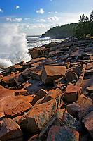 Storm Waves Crash along Ocean Drive  #A62