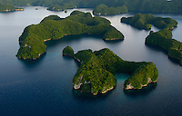 Aerial Rock Islands,Palau