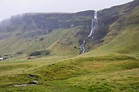 Wasserfall im Süden von Island