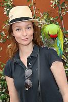 Audrey Marnay seen at 'Le Village de Roland Garros' during Roland Garros tennis open 2016 on may 27 2016.
