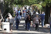 02/11/2020 - MOVIMENTAÇÃO NO CEMITERIO DA SAUDADE NO DIA DE FINADOS