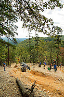 Photography of OHV offroading at rugged North Carolina's Uwharrie National Forest in Troy, NC.<br /> <br /> Charlotte Photographer - PatrickSchneiderPhoto.com