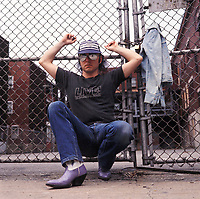 Lucien Francoeur, vers 1982<br /> <br /> session pour pochette d'album